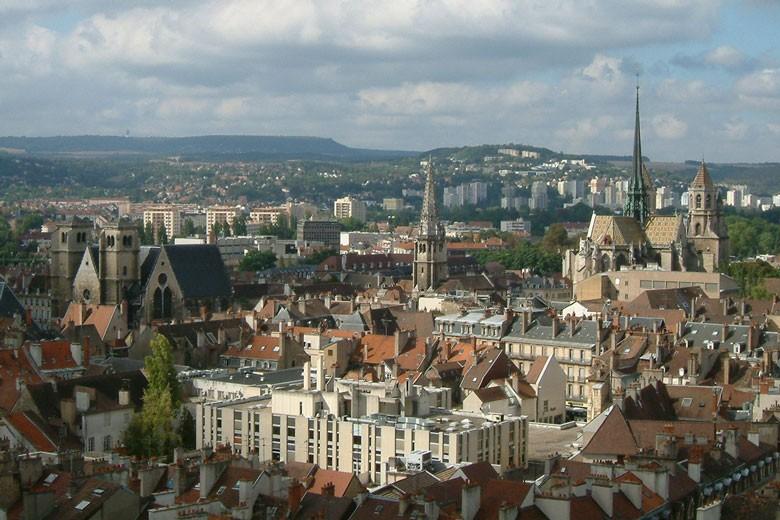 Vue de Dijon