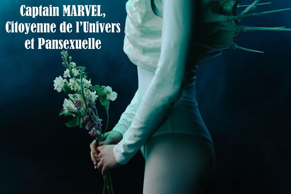 Captain MARVEL, Citoyenne de l'Univers et Pansexuelle - Couverture du Livre